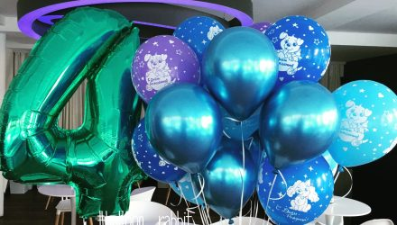 Гелевые шарики на день рождения