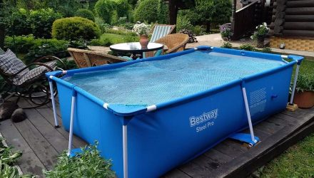Каркасный бассейн: свой водоем на даче