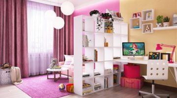 Как организовать хранение в комнате школьника?
