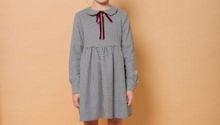 Платье «Гусиная лапка»