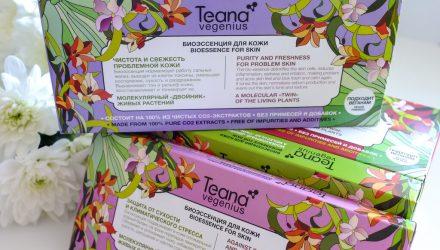 Косметика российского бренда Teana: основные компоненты и продукты